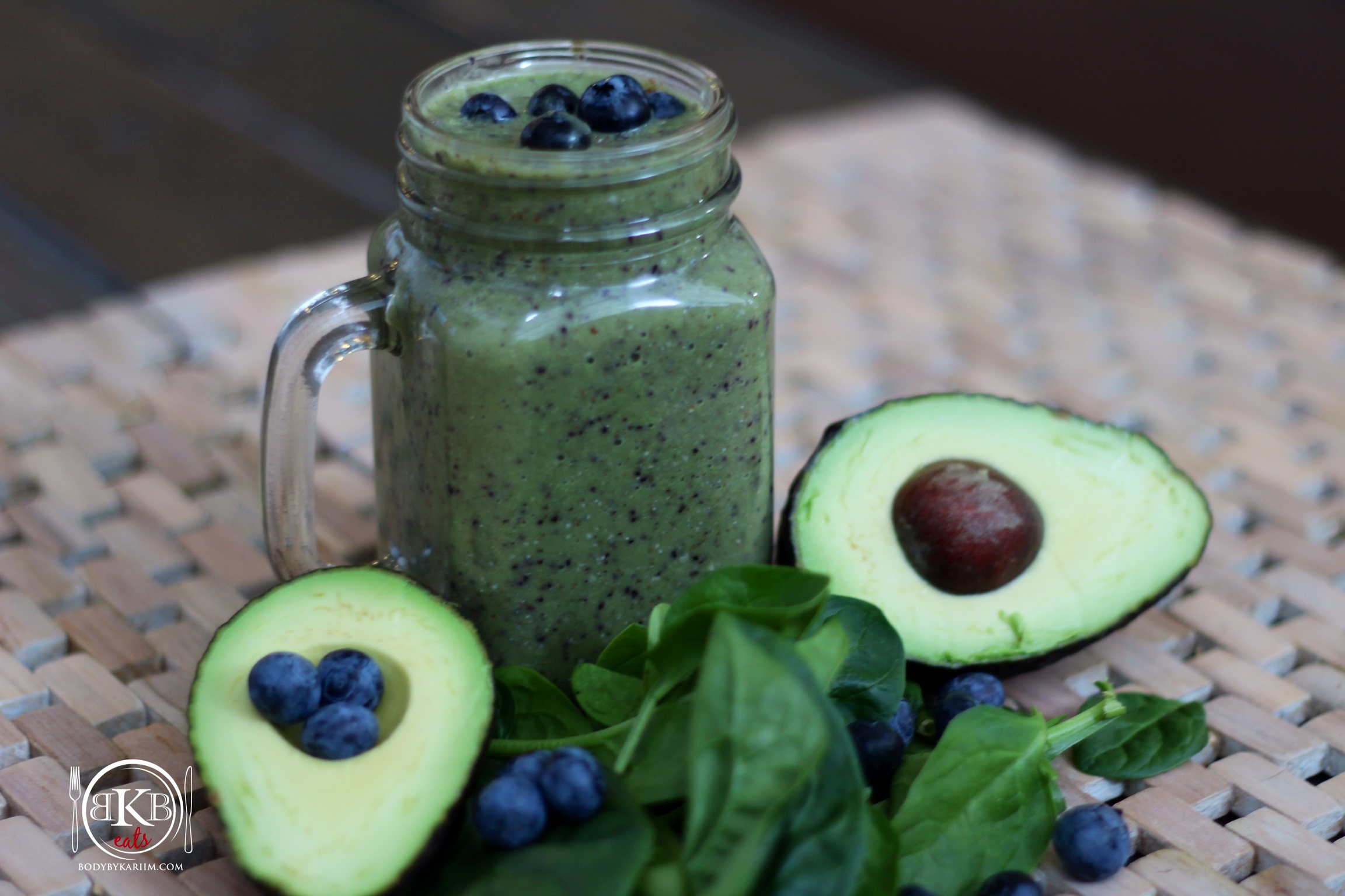Blueberry AvocadoSmoothie