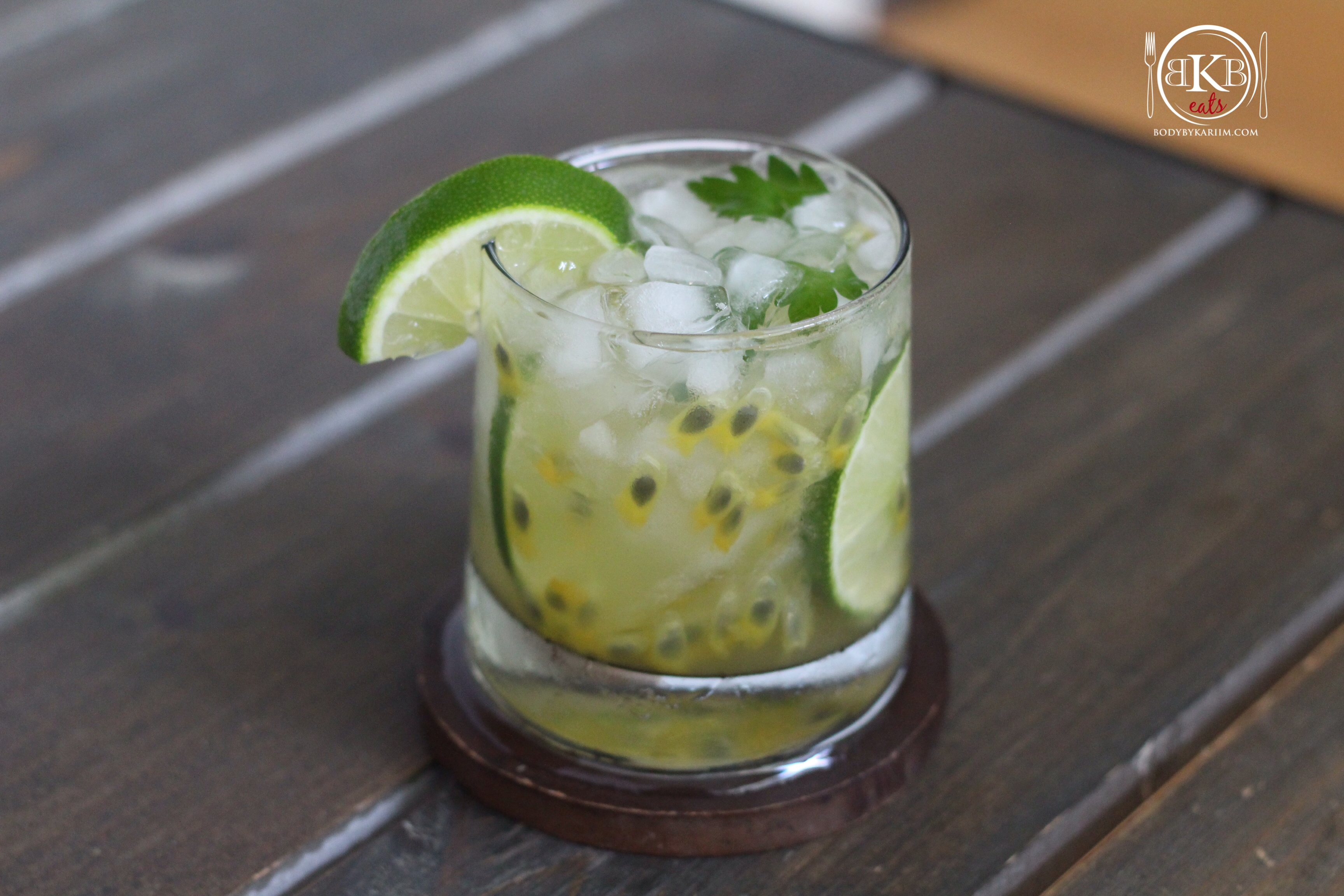 Passion Fruit-Lime Rita (Skinny CockTail)